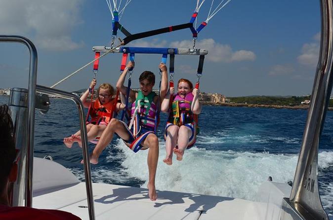Parasailing Boat Tour In Capri - Sorrento