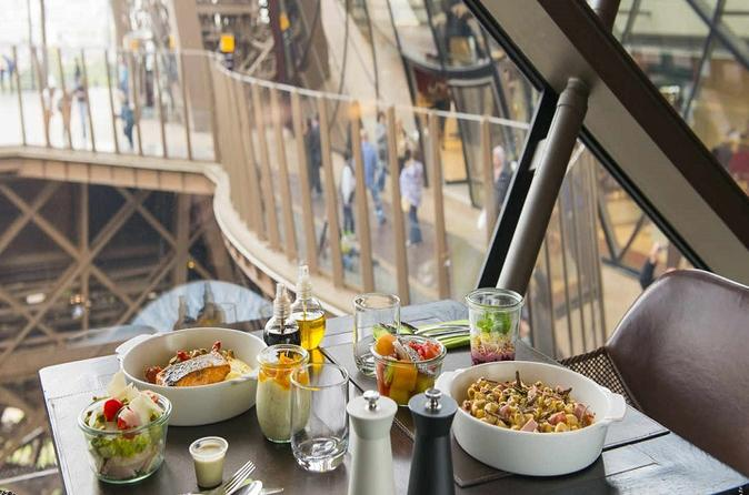 Eiffel Tower Lunch Hop On Hop Off Bus Tour and River Cruise