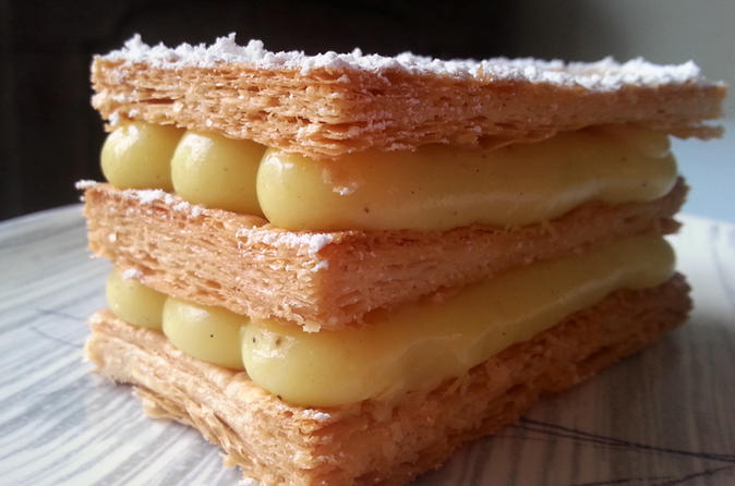 Paris Dessert Cooking Class: French Puff Pastry