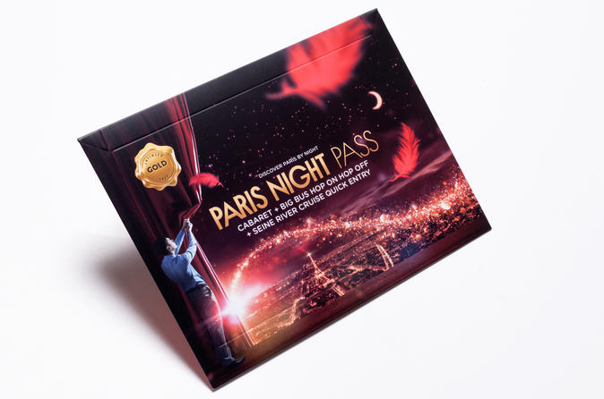 PARIS NIGHT PASS GOLD