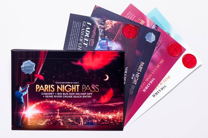 PARIS NIGHT PASS SILVER