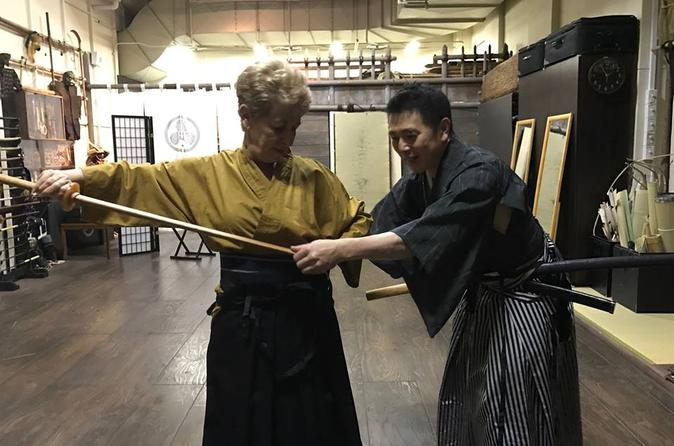 Private Samurai Immersion Lesson in Tokyo""