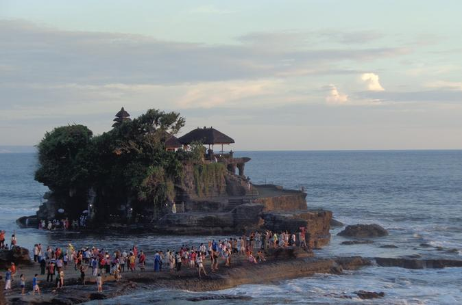 Sunset at Tanah Lot Temple and Spa Tour