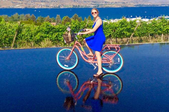 Electric bicycle tour of lake chelan and historic downtown in chelan 214124