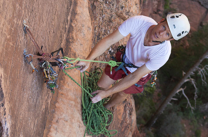 Rock climbing and canyoneering near zion national park in springdale 185144