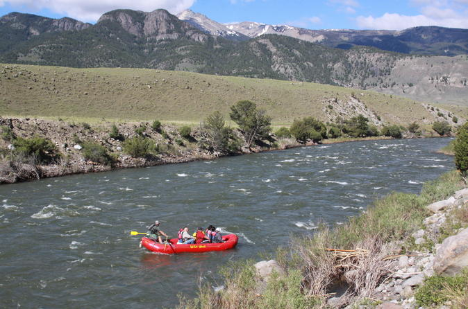 Scenic float on the yellowstone river in gardiner 185592