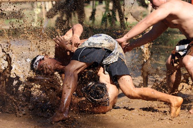 Mepantigan Balinese Wrestling Game