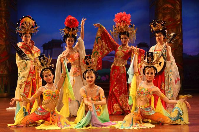Evening Tour: Xi'an Tang Dynasty Music and Dance Show and Dumpling Banquet