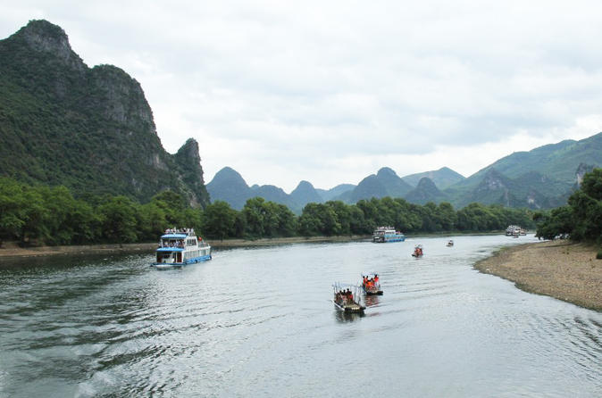 Guilin Private Day Tour of Li River Cruise and Yangshuo Sightseeing From Guilin China, Asia