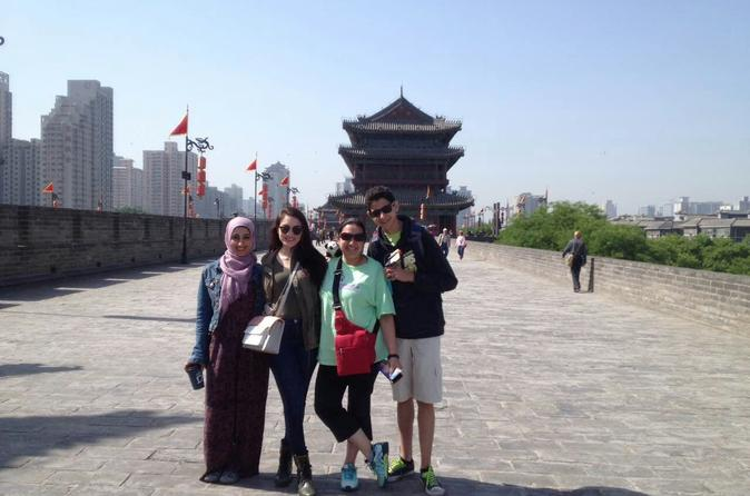 Xi'an Afternoon City Wall Tour Including Chinese Paper Cutting Class
