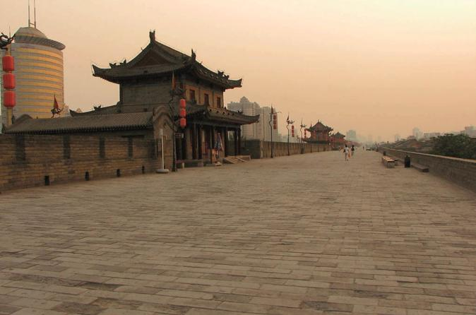 Xi'an Classic Day Tour: Shaanxi History Museum, Big Wild Goose Pagoda, City Wall, Bell and Drum Tower Square and Muslim Quarter