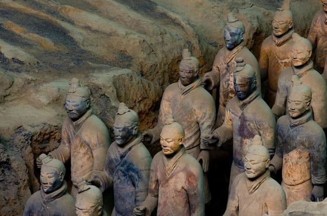 Xi an highlights day tour terracotta warriors and city sightseeing in xi an 188223