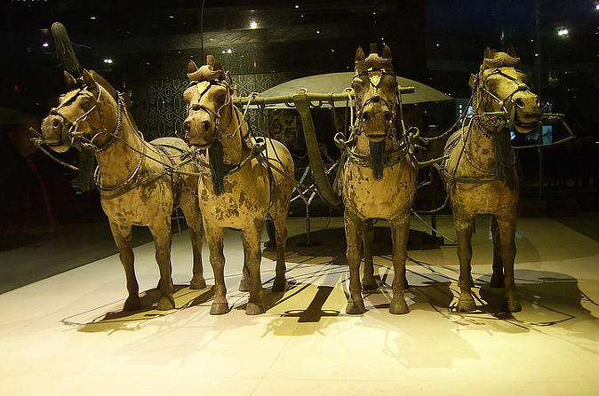 Xi'an Private Tour: Terracotta Warriors and Horses Museum, Tomb of Emperor Qin Shi Huang, and Banpo Museum