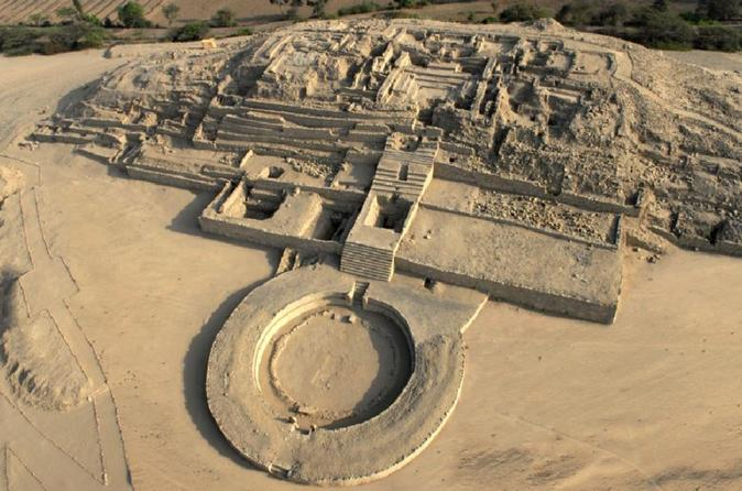 Caral Archaeological site