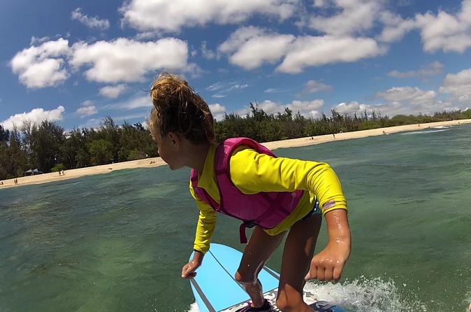 Two HR Group Surf Lesson: Three Students Per Instructor at Ala Moana