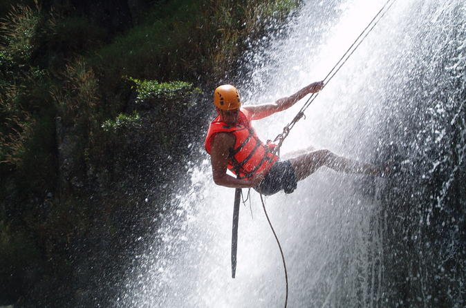 Canyoning Tour Including Datanla Falls Rappelling from Dalat