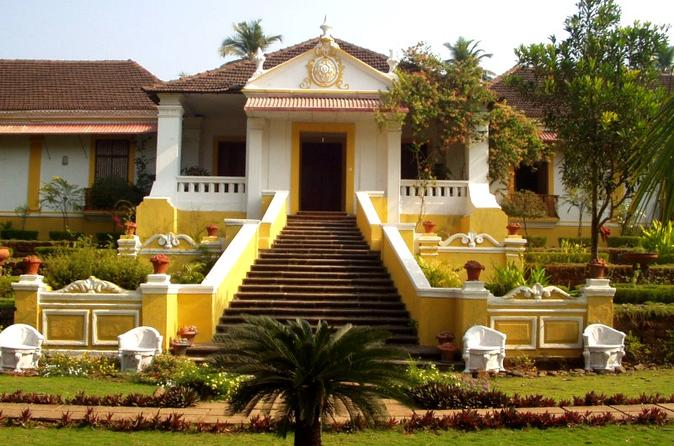 Private Tour: Braganza House, Goa Chitra Museum, Palacio Do Deao and Ancient Goa