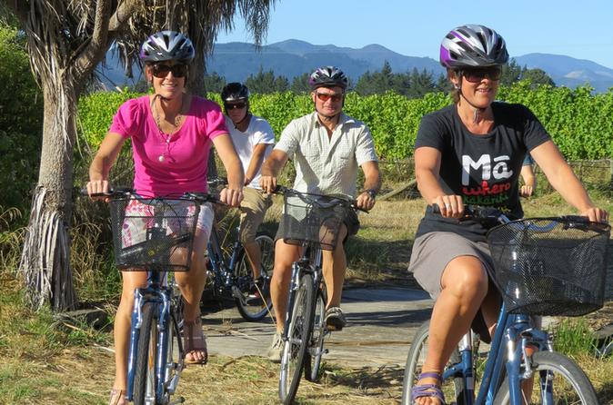 Deluxe full day marlborough wine region guided bike tour in blenheim 196614