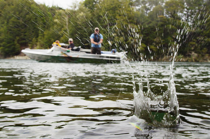 Half day jet boat fishing trip from te anau in te anau 205566