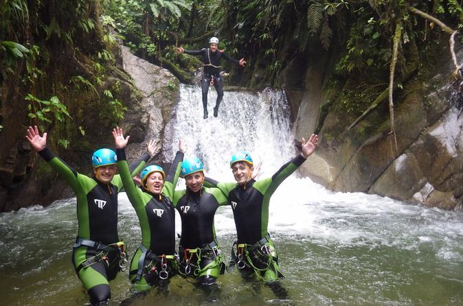 Canyoning in casahurco from ba os in banos 478811