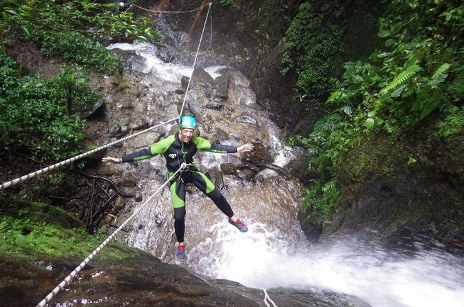 Canyoning in rio blanco from ba os in banos 478813