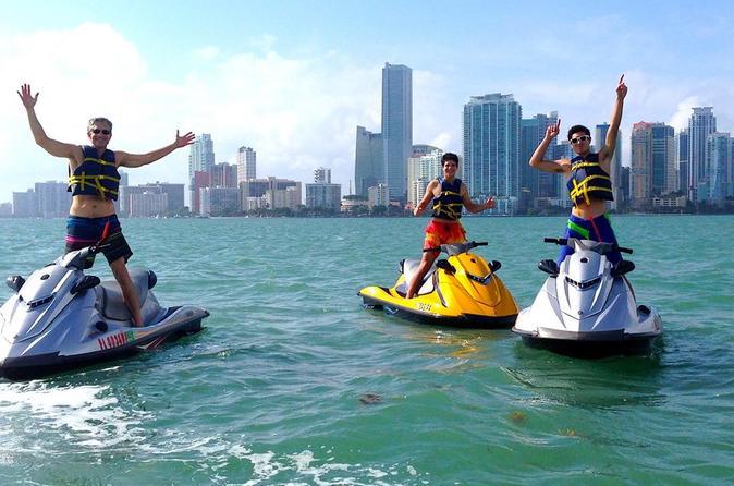 Biscayne Bay Jet Ski Tour - Miami