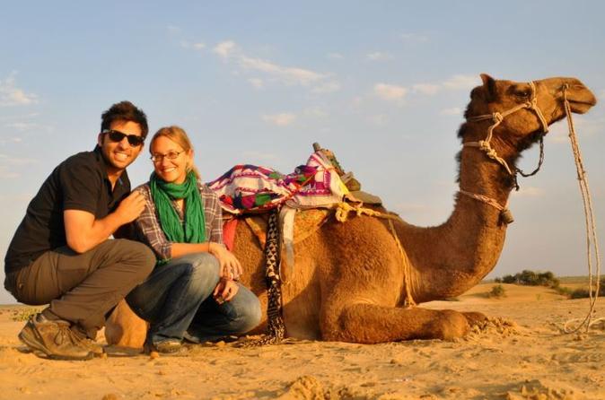 Camel Safari Day Tour In Jaisalmer