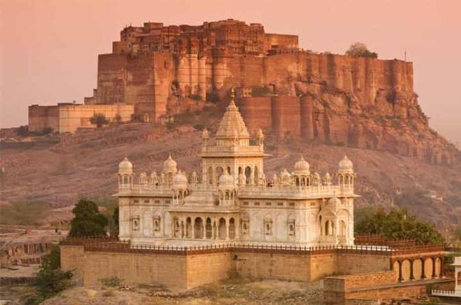 Jodhpur Or  Jaisalmer And Udaipur Private 6 Day Tour From Jodhpur