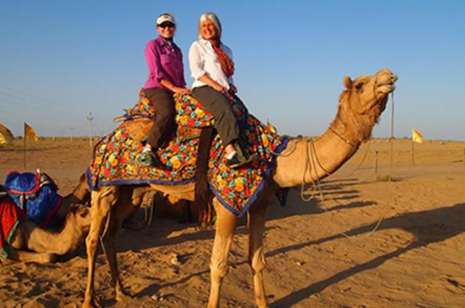 Private Tour of Bishnoi Villages with Camel Safari