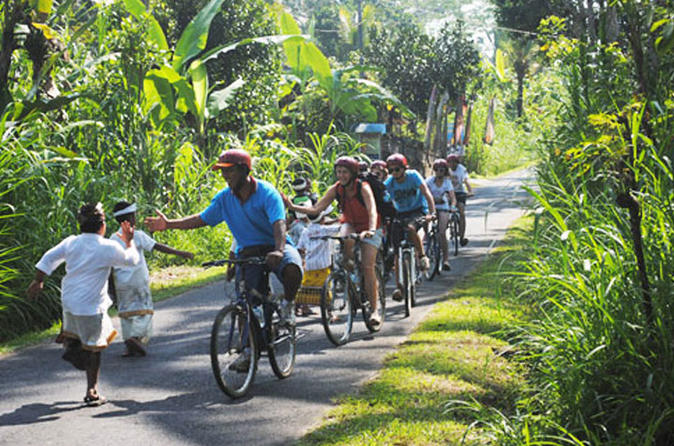 Half day lombok bike tour pengsong temple route in lombok 205883