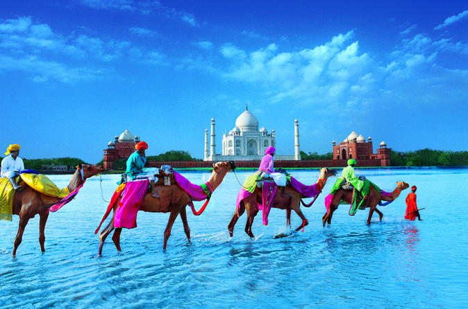 5-Night North India Golden Triangle from Delhi with 4-Star Hotel Stays