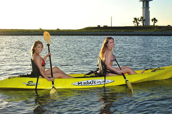 South padre island single or double kayak rentals in south padre island 195236