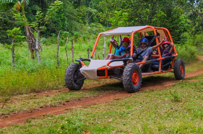 Aventura de buggy em família em Punta Cana