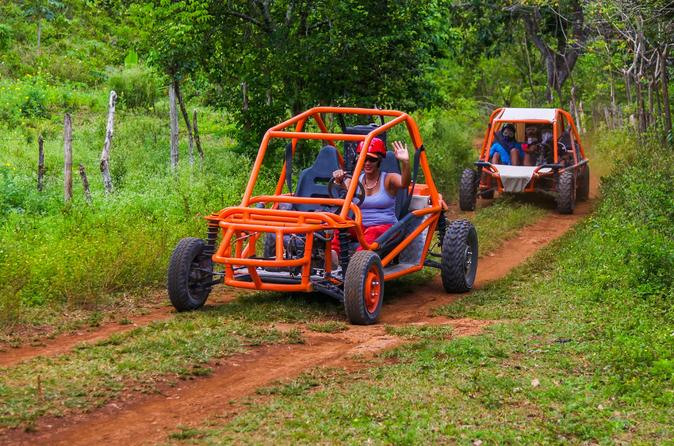 Solo Flintstones Buggy Adventure in Punta Cana