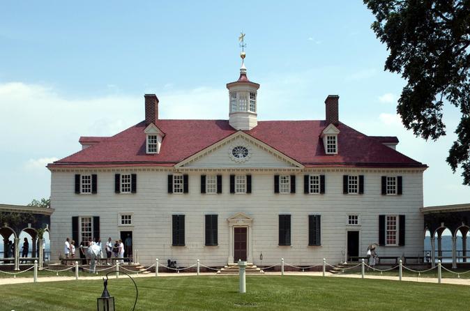 Viagem diurna para Mount Vernon saindo de Washington DC