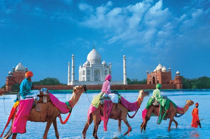 Private 4-Day Tour: Golden Triangle tour with Camel Safari