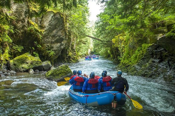 White Salmon River Rafting Half-Day Trip