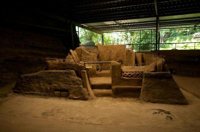 Joya de Cerén, San Andrés and Tazumal Pyramid Archaelogical Tour from San Salvador