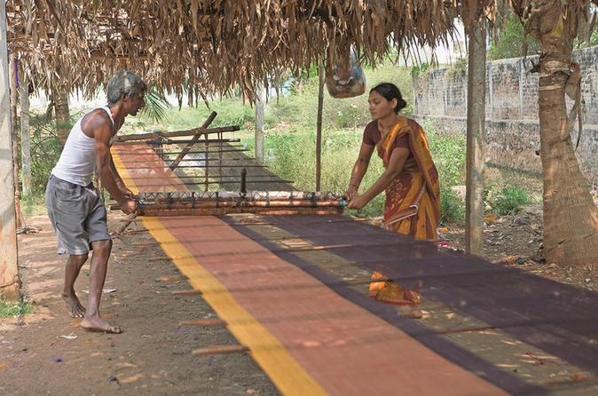 Private Pochampally Textile Village Tour from Hyderabad