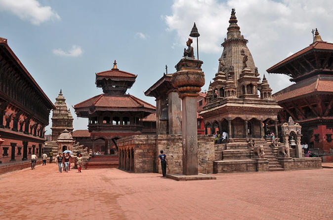 Private Half-Day Bhaktapur Sightseeing with Nagarkot Sunset Tour from Kathmandu