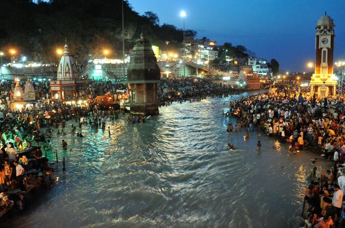 3-Day Independent Haridwar and Rishikesh Tour from Delhi with Private Car