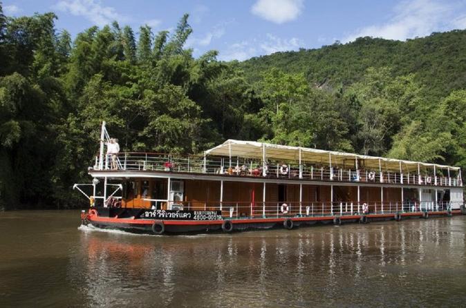 River Kwai Bootstour an Bord der RV