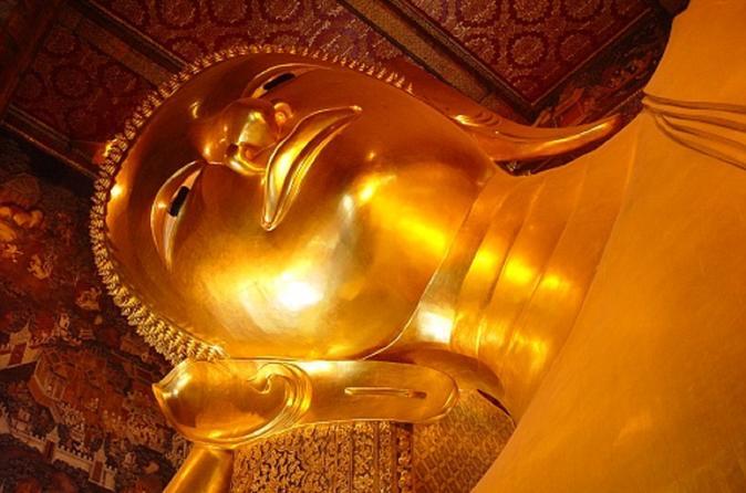 Excursão por templos e pela cidade de Bangcoc