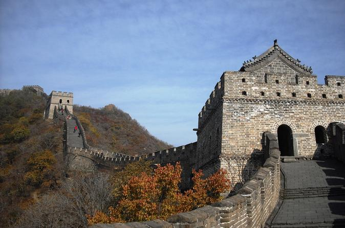 Full Day Mutianyu Great Wall including return Cable Ride and Olympic Green photo stop with Lunch