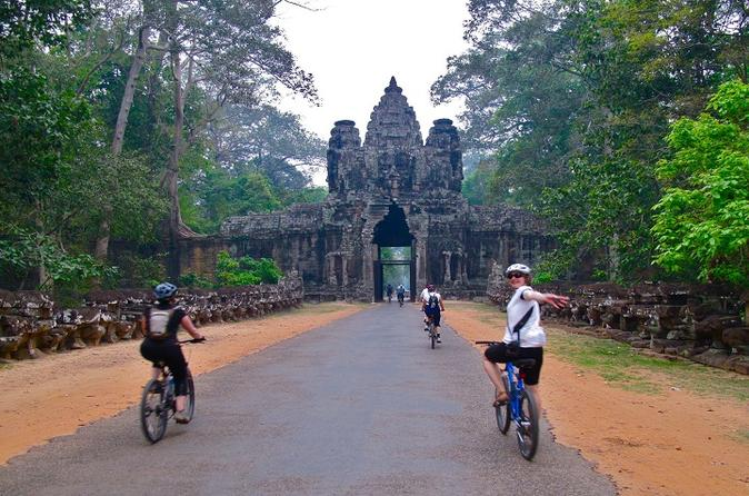 Half-Day Bike Tour from Siem Reap to Angkor Wat""