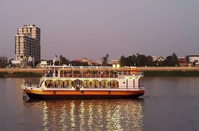 Phnom Penh Evening Dinner Cruise Including Hotel Pickup Cambodia, Asia