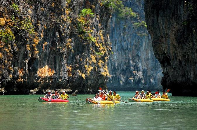 Private Canoe Tour of Phang Nga Bay Sea Caves from Phuket