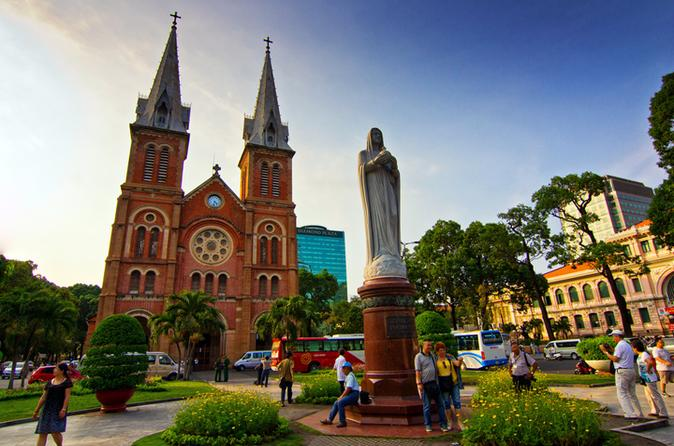 Full-Day Saigon Tour Including Cu Chi Tunnels