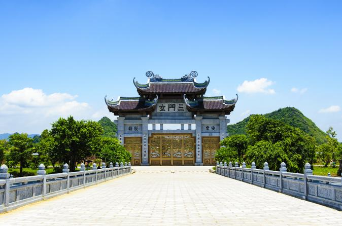 Ninh Binh Full Day Tour including Bai Dinh Temple and Trang An Natural Reserve