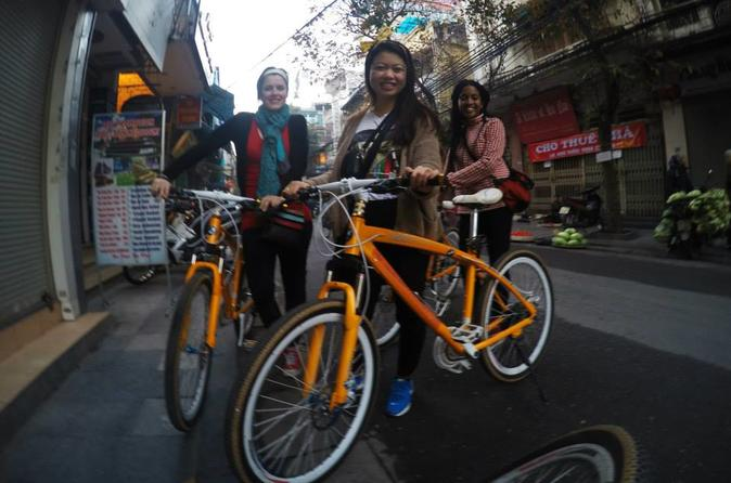 Amazing Morning Hanoi Bike Tour